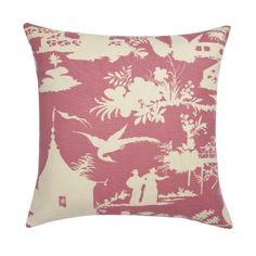 Pink Paradise Pillow