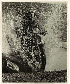 Martin Munkácsi (1896-1963) Motorcyclist Budapest 1923