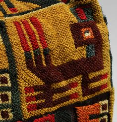 ~Four-Cornered Hat. Date: 5th–9th century Geography: Peru Culture: Wari Medium: Camelid hair