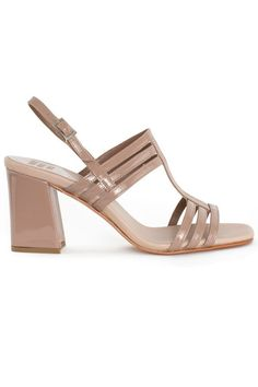 66db89c73e2c99 Same day Shipping on Maryam Nassir Zadeh shoes. Three thin straps make up  bands across the toes and vamp of the foot