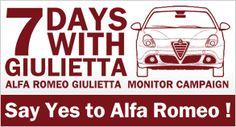 Alfa Romeo Giulietta 1ウイーク モニター キャンペーン