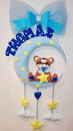 Fiocco nascita orsetto bambino, by dreamfairy, 36,00 € su misshobby.com