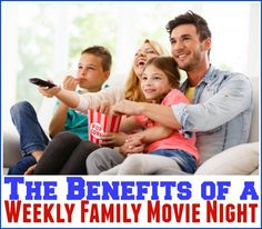 The Benefits of a Weekly Family Movie Night #TysonFreeMovieNight ad