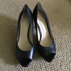 Enzo Angiolini Black Heels Black Heels - some scuffs on the heels only noticeable if you look closely. Enzo Angiolini Shoes Heels