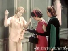 1950s Fashions in Paris - Real Vintage Fashion Footage - YouTube