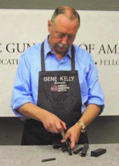 American Gunsmithing Institute's President and Master Gunsmith, Gene Kelly