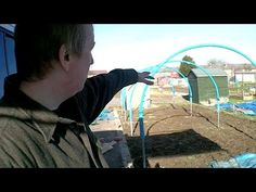 Building a Home Made Polytunnel Part 1 - Allotment Day 20 - YouTube