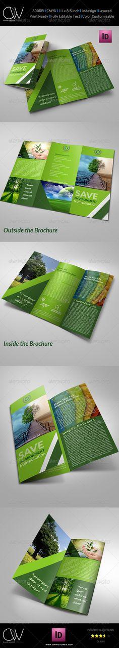 Environment Tri-Fold Brochure
