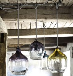 Genial Iu0027ve Just Found Eclectic Hand Blown Glass Pendant Lights. These Are  Stunning Mouth Blown Glass Pendant Lights.. £67.00
