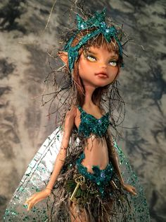 """""""Beloved"""" OOAK Monster High Custom Fairy Doll by Renee Coughlan of One & Only Dolls http://www.oneandonlydolls.com/ More"""
