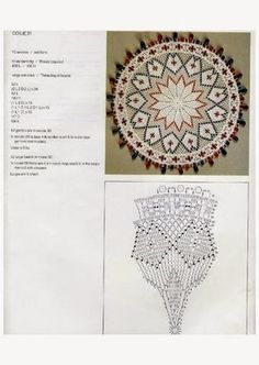 Doilies (Kenneth Moir) Afrikaans & English Crochet Dollies, Crochet Doily Patterns, Crochet Mandala, Star Wars, Ribbon Embroidery, Lace Knitting, Doilies, Vintage Inspired, Needlework