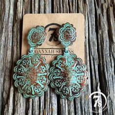 Rolette Concho Earrings