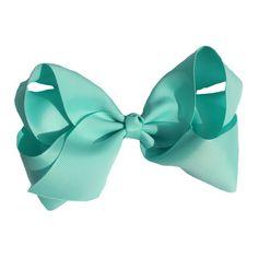 1pcs 6 INCH fashion big kids baby girl solid ribbon hair bow flower barrettes children hair accessory hairpin hairgrip headwear