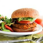 This weeks Healthy Vegetarian Meal Plan is up on the blog with recipes from shelikesfood makingthymeforhealth hummusapien and joanneeatswell  It includes these Sweet Potato Veggie Burgers I posted a few years ago If you are a veggie burger skeptic like I used to be have no fear These are and so is the rest of the meal plan Get it here httpwwwtheroastedrootnethealthyvegetarianmealplanweek