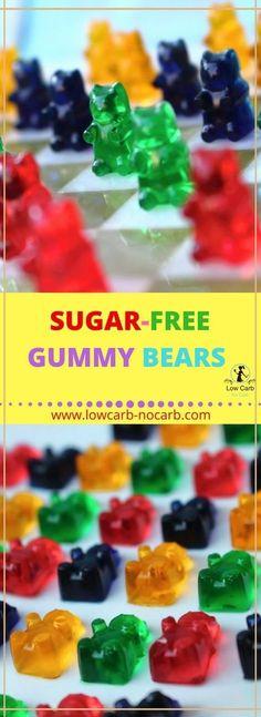 Zuckerfreie Gummibärchen #zuckerfeie #gummibärchen #ohnezucker #gesundeessen ketobärchen