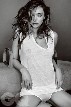 pinterest.com/fra411 #beauty - Miranda Kerr – GQ UK Magazine Photoshoot - May 2014