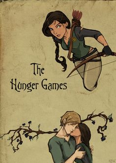 Hunger Games, fan art.