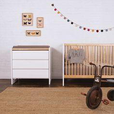 Berços e Móveis sustentáveis para o quarto de bebê