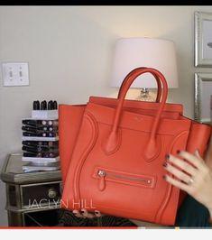 35cb8b161d0f Celine Mini Luggage in the color Poppy