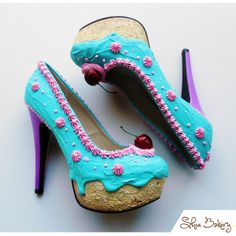 Shoes that look like cakes - Shoe Bakery!