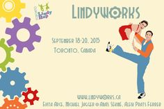 Lindyworks is Toronto Lindy Hop's annual weekend of workshop wonderfulness! It's all about Lindy Hop and Vernacular Jazz dancing. Our goal is to put on a weekend of solid dance instruction that both challenges and inspires dancers during the day and to host evening parties that feature the best swinging jazz music and are a big bushel of fun. This year we have: Evita & Michael, Anais & Aleix. Registration will be opening soon!