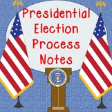 Presidential Election Process Powerpoint Note Sheet
