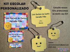 Personalize sua Arte: Kit Escolar Personalizado