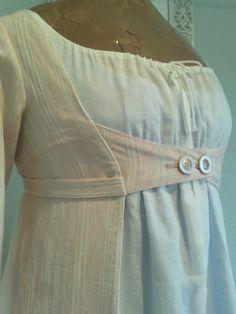 Das nächste Regency-Stück ist meine neue Open Robe. Ich haben den Schnitt aus Patterns of Fashion als Grundlage verwendet und wieder ein...
