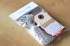 Mini Gift Wrapping Kit / Scrapbooking Kit  I by CaliforniaCraft, $5.00