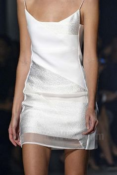 """Narciso Rodriguez - about 4-6"""" longer, and this would be PERFECT!!"""