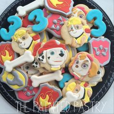 Paw Patrol Platter | Cookie Connection