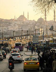 The Galata Bridge Istanbul