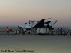Dream Chaser Spaceplane Makes Crucial Leap Toward Orbital Flights
