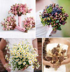 Bouquet minimal: dalla lavanda alle bacche…