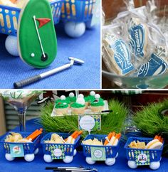 More cute golf party ideas!