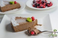 Vegetarian Desserts, Raw Vegan Recipes, Healthy Desserts, Vegan Food, Vegan Cheesecake, Deserts, Pudding, Sweets, Cooking