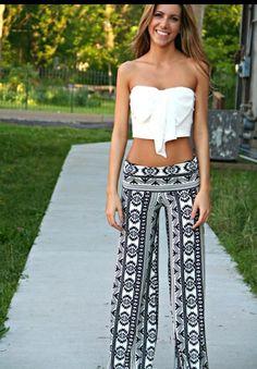 : Printed pants