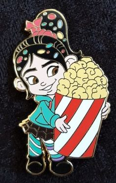View Pin: DSF DSSH - Vanellope Going to the Movies