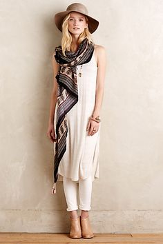 Perle Linen Tunic #anthropologie