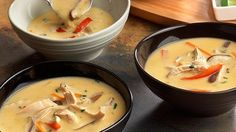 Thai Rotisserie Chicken Soup is a great bariatric hack. Pump up your meal plan with this soup made of flavorful Asian ingredients.