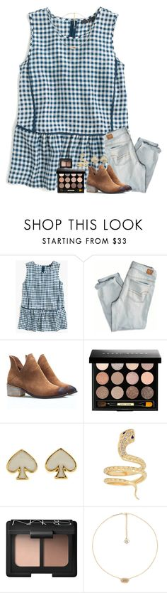 """""""we got 72,000 cans for our food drive!!"""" by classyandsassyabby ❤ liked on Polyvore featuring J.Crew, American Eagle Outfitters, Bobbi Brown Cosmetics, Kate Spade, Iconery Basics, NARS Cosmetics and Kendra Scott"""