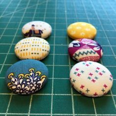 DIY Fabric Magnets!