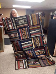 Navajo code talkers quilt