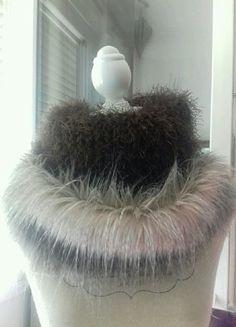 À vendre sur #vintedfrance ! http://www.vinted.fr/accessoires/echarpes/25330274-echarpe-tube-marron-a-fourrure