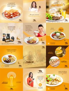 Charmitinhas - Restaurante • Social Media on Behance