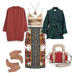 A fashion look from January 2016 featuring red cardigan, crop tops and blue coat. Browse and shop related looks. Alex Monroe, Fashion Women, Women's Fashion, Red Cardigan, Blue Coats, Carven, River Island, Women's Clothing, Mango