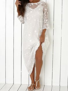 Fairy Lace Two-Piece Dress Dress P, Lace Dress, White Dress, White Lace, Cute Dresses, Casual Dresses, Summer Dresses, Boho Fashion, Fashion Outfits