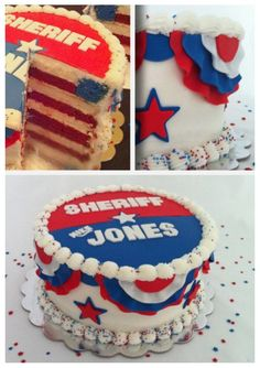 1000+ images about Sheriff Election Cake Ideas on ...