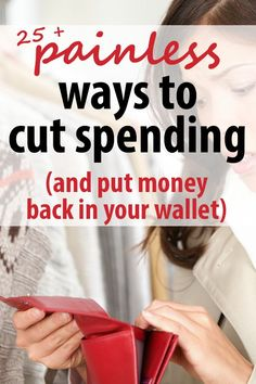 frugal living and money saving tips!  These easy money saving ideas will show you it's not HARD to keep extra money in your budget.