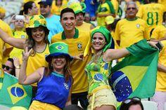 Brazil fans World Cup 2014, Fifa World Cup, Soccer World, Football, Fans, Breakfast Nook, World Cup Fixtures, Soccer, Futbol